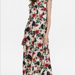 H&M Floral Ankle Length Dress NEVER WORN